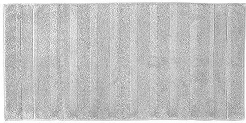 Ręcznik 160x80 noblesse gładki srebrny