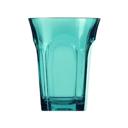 Guzzini - belle epoque - szklanka wysoka,niebieska, 2 szt. - niebieski