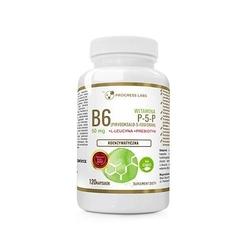 Vitamin b6 p-5-p 50mg koenzymatyczna + inulina 120caps