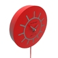 Zegar ścienny z wahadłem philip calleadesign czarny 11-007-5
