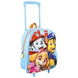 Plecak 3d paw na kółkach psi patrol walizka