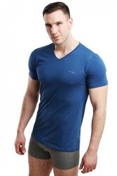 Koszulka męska vneck jeans pierre cardin