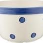 Miseczka spots  stripes niebieskie kropki 900 ml