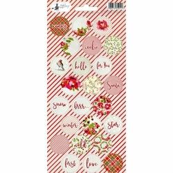 Naklejki świąteczne Rosy Cosy Christmas 10,5x23 cm - 03 - 03