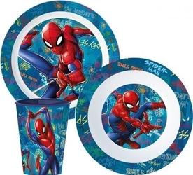 Zestaw obiadowy spiderman new