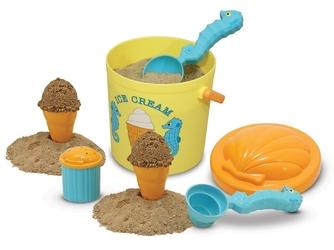LODZIARNIA zestaw foremek do piasku