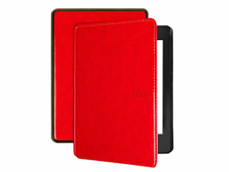 Etui Alogy do Kindle Paperwhite 4 z paskiem czerwone - Czerwony