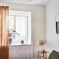 Kinkiet duży - lampa ścienna z naturalnych piór eos up umage 70 cm 02141