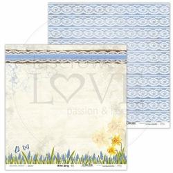 Papier do scrapbookingu Yellow Spring 30,5x30,5 cm - 05 - 05