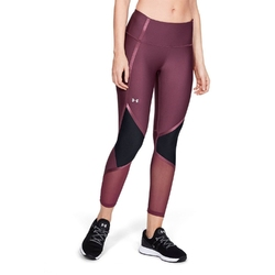Legginsy damskie under armour hg armour shine ankle crop - fioletowy
