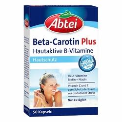 Abtei Beta-carotin Plus Hautaktive B-vitamine Kapseln