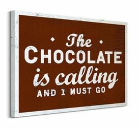Go Jump In The Lake Chocolate - Obraz na płótnie