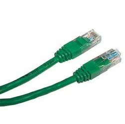 Utp patchcord utp patchcord, cat.5e, rj45 m-10m, nieekranowany, zielony, economy