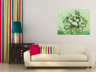 waza z różami -  vincent van gogh ; obraz - reprodukcja