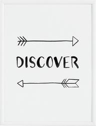 Plakat discover 21 x 30 cm