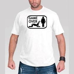 Koszulka GAME OVER - Oddaj Kartę - XL