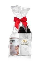 Kolagen w proszku+ witamina c noble health 100g + oryginalny shaker nh gratis