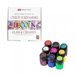 Zestaw farb do ceramiki szkła metalu 9x20ml