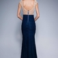 Soky soka sukienka granat 48004-2