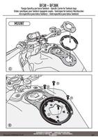 Givi bf38 mocowanie tanklock honda cb 1000 r 18
