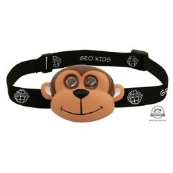 Małpka latarka czołowa dla dzieci