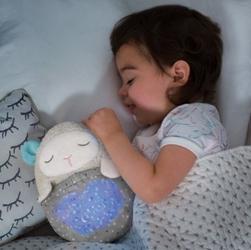 Skip hop - projektor przytulanka owieczka
