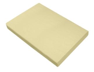 Prześcieradło bawełniane bielbaw kremowe 220 x 210