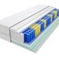 Materac kieszeniowy sparta max plus 195x215 cm średnio twardy 2x lateks