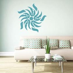 Szablon do malowania dekoracja abstrakcyjna 18sm40