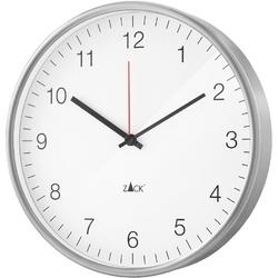 Zegar ścienny palla zack 30cm, biały 60023