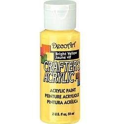 Farba akrylowa Crafters Acrylic 59 ml- żółty jasny - ŻÓŁJAS