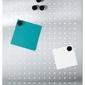 Tablica magnetyczna 40x50 cm, matowa, dziurkowana - 40x50  matowa || dziurkowana