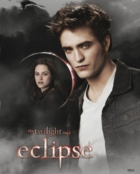 Twilight - Eclipse Edward And Bella Moon - plakat