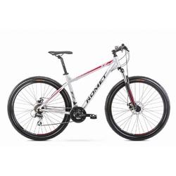 Rower górski romet rambler r9.1 2020, kolor srebrny, rozmiar 19