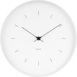 Zegar ścienny butterfly biały 27,5 cm