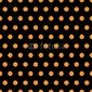 Obraz na płótnie canvas czteroczęściowy tetraptyk kropki na halloween