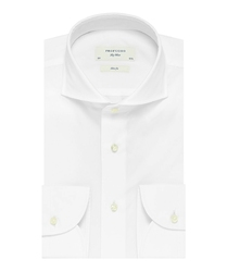 Elegancka biała koszula męska Profuomo SLIM FIT z egipskiej bawełny Giza 44