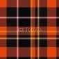 Obraz na płótnie canvas trzyczęściowy tryptyk szkocka krata tekstury