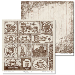Ozdobny papier Coffee Time 30,5x30,5 cm - 06 - 06