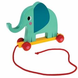 Zabawka do ciągnięcia słoń elvis Rex London