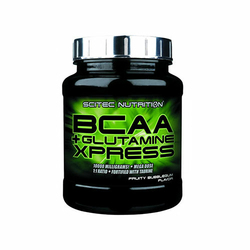SCITEC BCAA + Glutamine Xpress 300 g Aminokwasy - Lime