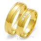 Obrączki ślubne złoty skorpion – wzór au-o134