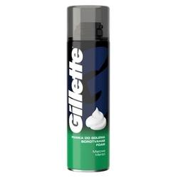 Gillette menthol shave foam pianka do golenia dla mężczyzn 300ml