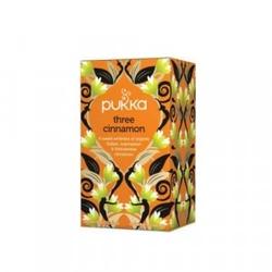 Herbata cynamonowathree cinnamon - 20 torebek, pukka