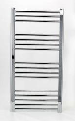 Grzejnik łazienkowy wetherby - elektryczny, wykończenie proste, 600x1000, chromowany