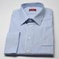 Elegancka koszula męska van thorn slim fit w biało niebieskie paski 46