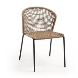 Krzesło ogrodowe mccoy 79x62 cm beżowe