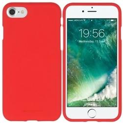 Mercury Etui SOFT iPhone 8 czerwony