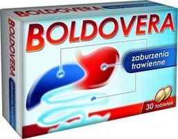 Boldovera - przy dolegliwościach trawienych boldovera 30kaps.