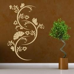 Motyw roślinny 1238 szablon malarski